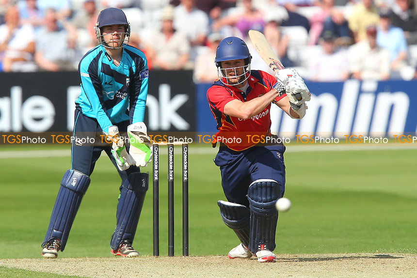 James Foster in batting action for Essex - Essex Eagles vs Scotland - Yorkshire Bank YB40 Cricket at the Essex County Ground, Chelmsford - 02/06/13 - MANDATORY CREDIT: Gavin Ellis/TGSPHOTO - Self billing applies where appropriate - 0845 094 6026 - contact@tgsphoto.co.uk - NO UNPAID USE