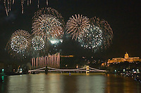 Budapest Fireworks 2009