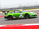Fred Poordad (16) in action during the V8 Supercars and the Porsche GT3 Cup cars practice sessions at the Circuit of the Americas race track in Austin,Texas. ..