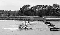 Nottingham. United Kingdom. <br /> <br /> GB Masters Championships, National Water Centre, Holme Pierrepont<br /> <br /> Saturday   10/06/2017<br /> <br /> <br /> [Mandatory Credit Peter SPURRIER/Intersport Images] General View, GV, Start Area [1000m].