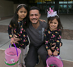The Fisher family during the Easter Egg Hunt at Legends in Sparks, Nevada on Saturday, April 20, 2019.