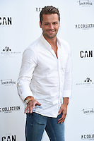 James Hill<br /> arrives for the Amy Childs Summer Collection show at Beach Blanket Babylon, Notting Hill, London.<br /> <br /> <br /> ©Ash Knotek  D3129  06/06/2016