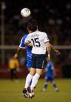 Heath Pearce during FIFA World Cup qualifier against El Salvador. USA tied El Salvador 2-2 at Estadio Cuscatlán Stadium in El Salvador on March 28, 2009.