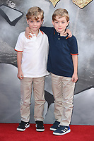Zac Barker &amp; Oliver Barker at the European premiere for &quot;King Arthur: Legend of the Sword&quot; at the Cineworld Empire in London, UK. <br /> 10 May  2017<br /> Picture: Steve Vas/Featureflash/SilverHub 0208 004 5359 sales@silverhubmedia.com
