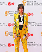 Jennifer Metcalfe at the British Academy (BAFTA) Television Awards 2019, Royal Festival Hall, Southbank Centre, Belvedere Road, London, England, UK, on Sunday 12th May 2019.<br /> CAP/CAN<br /> ©CAN/Capital Pictures