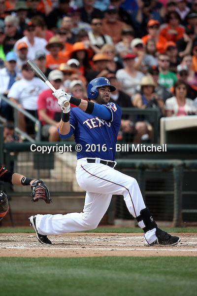 Mitch Moreland - Texas Rangers 2016 spring training (Bill Mitchell)