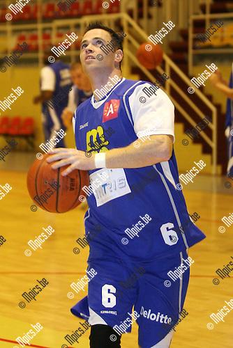2010-08-17 / Seizoen 2010-2011 / Basketbal / Sint Jan / Maarten Goethaert..Foto: mpics