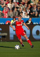 07 May 2011: Toronto FC forward Nick Soolsma #18 in action during an MLS game between the Houston Dynamo and the Toronto FC at BMO Field in Toronto, Ontario..Toronto FC won 2-1.