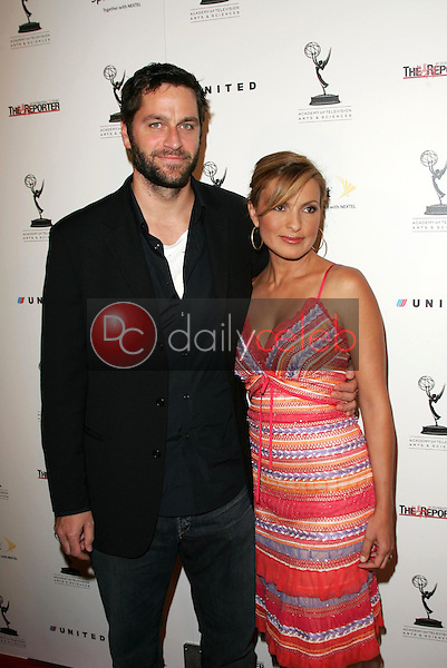 Peter Hermann and Mariska Hargitay<br />