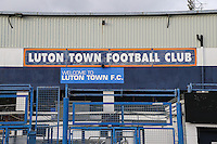 General view of Kenilworth Road Stadium, home of Luton Town Football Club during the Sky Bet League 2 match between Luton Town and Wycombe Wanderers at Kenilworth Road, Luton, England on 26 December 2015. Photo by David Horn.