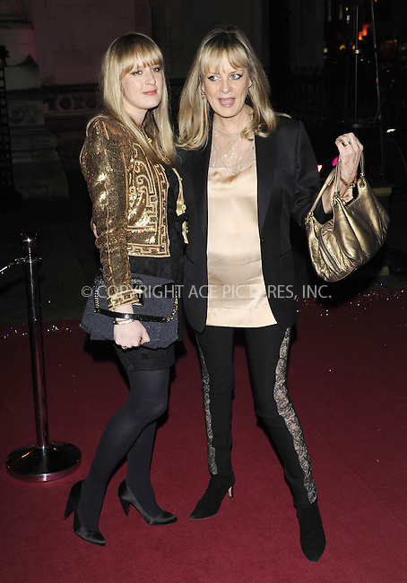 WWW.ACEPIXS.COM . . . . .  ..... . . . . US SALES ONLY . . . . .....December 9 2009, london....Carly and Twiggy Lawson arriving at the British Fashion Awards at Royal Courts of Justiceon The Strand on December 9, 2009 in London, England.......Please byline: FAMOUS-ACE PICTURES... . . . .  ....Ace Pictures, Inc:  ..tel: (212) 243 8787 or (646) 769 0430..e-mail: info@acepixs.com..web: http://www.acepixs.com