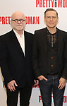 Jim Vallance and Bryan Adams attends the photo call for the New Broadway Bound Musical 'Pretty Woman' on January 22, 2018 at the New 42nd Street Studios in New York City.
