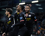 Gabriel Jesus of Manchester City celebrates scoring the first goal during the Premier League match at Turf Moor, Burnley. Picture date: 3rd December 2019. Picture credit should read: Simon Bellis/Sportimage