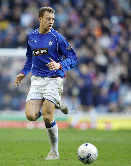 Alan Hutton, Rangers.stock season 2005-2006.pic willie vass