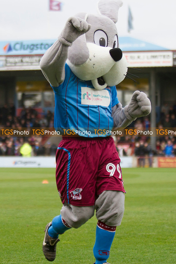 Scunny Bunny during Scunthorpe United vs Millwall, Sky Bet EFL League 1 Play-Off Football at Glanford Park on 7th May 2017
