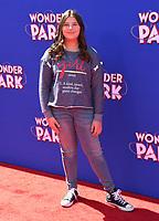 "10 March 2019 - Westwood, California - Mackenzie Hancsicsak. ""Wonder Parker"" Los Angeles Premiere held at Regency Village Theater. Photo Credit: Birdie Thompson/AdMedia"