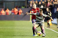 Carlos Clerc (defender; CA Osasuna) during the Spanish football of La Liga 123, match between CA Osasuna and  Granada CF at the Sadar stadium, in Pamplona (Navarra), Spain, on Sunday, February 3, 2019.