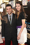 HOLLYWOOD, CA - JUNE 20: David Krumholtz and Vanessa Britting arrive at the Los Angeles premiere of HBO's 'The Newsroom' at ArcLight Cinemas Cinerama Dome on June 20, 2012 in Hollywood, California.