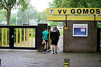 NORG - Voetbal, Trainingskamp FC Groningen, voorbereiding seizoen 2018-2019, 10-07-2018,  aankomst sportpark van GOMOS