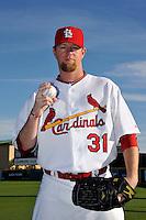 Mar 01, 2010; Jupiter, FL, USA; St. Louis Cardinals  pitcher Ryan Franklin (31) during  photoday at Roger Dean Stadium. Mandatory Credit: Tomasso De Rosa/ Four Seam Images
