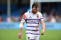Brendon O'Connor of Leicester Tigers looks dejected after the match. Gallagher Premiership match, between Exeter Chiefs and Leicester Tigers on September 1, 2018 at Sandy Park in Exeter, England. Photo by: Patrick Khachfe / JMP