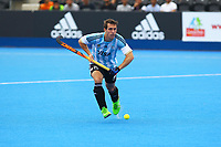 Diego Paz of Argentina during the Hockey World League Quarter-Final match between Argentina and Pakistan at the Olympic Park, London, England on 22 June 2017. Photo by Steve McCarthy.