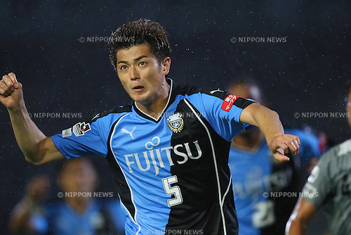 Shogo Taniguchi (Frontale), <br /> SEPTEMBER 3, 2016 - Football / Soccer : <br /> The 96th Emperor's Cup All Japan Football Championship <br /> between Kawasaki Frontale 3-1 Blaublitz Akita <br /> at Kawasaki Todoroki Stadium, Kanagawa, Japan. <br /> (Photo by YUTAKA/AFLO SPORT)