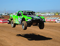 Apr 15, 2011; Surprise, AZ USA; LOORRS driver Nick Tyree (91) during round 3 and 4 at Speedworld Off Road Park. Mandatory Credit: Mark J. Rebilas-.
