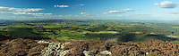 Castle Douglas and Cairnsmore of Cairsphairn from Screel above Auchencairn, Galloway, South West Scotland<br /> <br /> Copyright www.scottishhorizons.co.uk/Keith Fergus 2011 All Rights Reserved