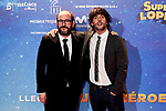 Dani San Jose and Borja Cobeaga attends to Super Lopez premiere at Capitol cinema in Madrid, Spain. November 21, 2018. (ALTERPHOTOS/A. Perez Meca)