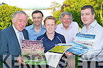 Launching the Killarney Lions/Killarney Camera club 2012 Calendar in aid of Kerry Parents and Friends on Thursday was l-r: Ignasious O'Shea, Seamus Long Camera Club, Colm Cooper, Corneilus O'Shea and Sean O'Grady..