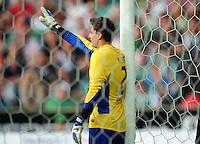 FUSSBALL   1. BUNDESLIGA   SAISON 2011/2012    7. SPIELTAG SV Werder Bremen - Hertha BSC Berlin                   25.09.2011 Torwart Sebastian MIELITZ (Werder Bremen)