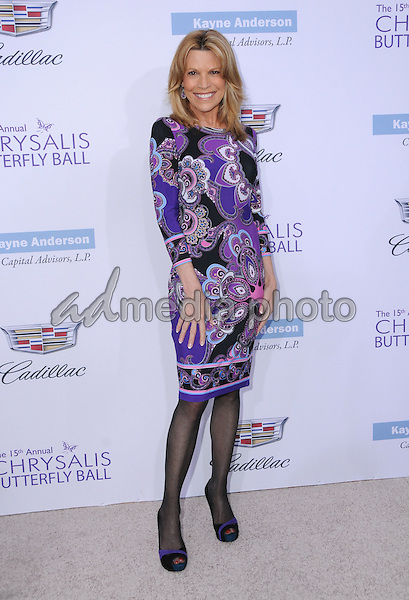 11 June 2016 - Los Angeles. Vanna White. Arrivals for the 15th Annual Chrysalis Butterfly Ball held at a Private Mandeville Canyon Residence. Photo Credit: Birdie Thompson/AdMedia