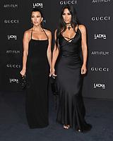 03 November 2018 - Los Angeles, California - Kourtney Kardashian, Kim Kardashian . 2018 LACMA Art + Film Gala held at LACMA.  <br /> CAP/ADM/BT<br /> &copy;BT/ADM/Capital Pictures