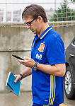 Spainsh Julen Lopetegui  arriving at the concentration of the spanish national football team in the city of football of Las Rozas in Madrid, Spain. August 28, 2017. (ALTERPHOTOS/Rodrigo Jimenez)