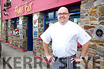 Chef Noel Dennehy from the Bridge Bar & Moorings Restaurant Portmagee.