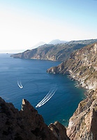 ITA, Italien, Sizilien, Liparischen Inseln, Hauptinsel Lipari: die rauhe Suedwestkueste | ITA, Italy, Sicily, Aeolian Islands or Lipari Islands, main island Lipari: rough southwest coast