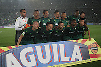 BOGOTA -COLOMBIA, 25-02-2017.Team of La Equidad .Action game between  La Equidad and Atletico Nacional during match for the date 5 of the Aguila League I 2017 played at Ne stadium . Photo:VizzorImage / Felipe Caicedo  / Staff