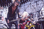 Motley Crue  at Castle Donnington , England Aug 1984 Donnington Monsters of Rock 1984 Donnington 1984