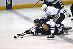 in action during a game between the Vancouver Canucks and the St. Louis Blues on Tuesday April 16, 2013 at the Scottrade Center in downtown St. Louis.