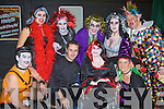 FANCY DRESS; Tralee Musical theme for halloween was The Roxy Horror Show in The Deacon Bar & Disco, Benners Hotel, Tralee on Friday night. L-r: Richard Walsh, Jonathan Lynch, Sharon Walsh, Marie hanafibn, maude Walsh, Ciara O'Callaghan, Tim Landers, Rebecca Roche and Tom Hanafin