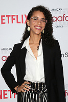 LOS ANGELES - JAN 22:  Jasmin Savoy Brown at the 2020 African American Film Critics Association Awards at the Taglyan Complex on January 22, 2020 in Los Angeles, CA