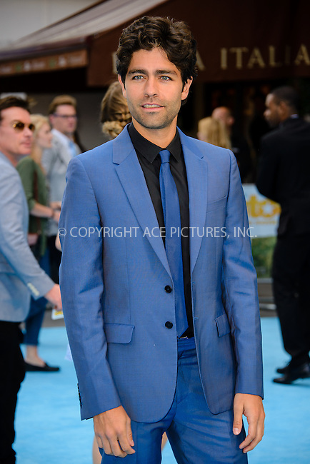 WWW.ACEPIXS.COM<br /> <br /> June 9 2015, London<br /> <br /> Adrian Grenier arriving at The European Premiere of Entourage at the Vie West End on June 9 2015 in London<br /> <br /> By Line: Famous/ACE Pictures<br /> <br /> <br /> ACE Pictures, Inc.<br /> tel: 646 769 0430<br /> Email: info@acepixs.com<br /> www.acepixs.com