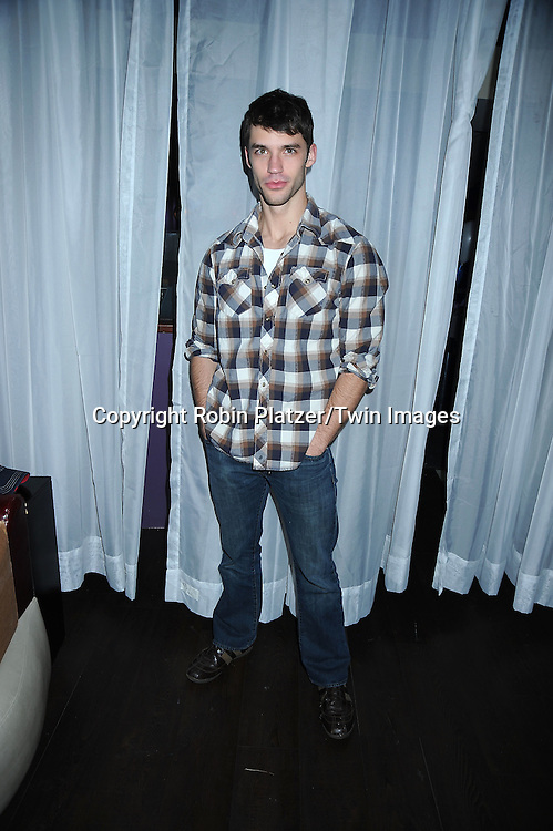 David Gregory of One Life to Live,attending the 7th Annual Daytime Stars and Strikes Bowling Event on October 10, 2010 at Leisure Time Bowling Facility in New York City. The event benefited The American Cancer Society.