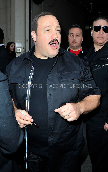 WWW.ACEPIXS.COM<br /> <br /> April 13 2015, New York City<br /> <br /> Actor Kevin James made an appearance at HuffPost live on April 13 2015 in New York City<br /> <br /> By Line: Curtis Means/ACE Pictures<br /> <br /> <br /> ACE Pictures, Inc.<br /> tel: 646 769 0430<br /> Email: info@acepixs.com<br /> www.acepixs.com