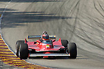 Robert Moeller races his 1980 Ferrari 312 T5/046 at the Brian Redman International Challenge at Road America, 2005.