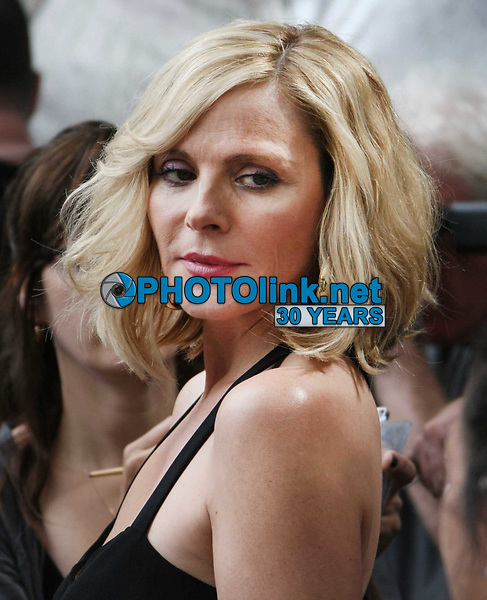 Kim Cattrell filming ''Sex In The City 2'' 2009<br /> Photo By John Barrett/CelebrityArchaeology.com