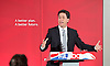 Labour Party Education manifesto launch at Microsoft, London, Great Britain <br /> 9th April 2015 <br /> <br />  General Election Campaign 2015 <br /> <br /> Ed Miliband <br /> Leader of the Labour Party <br /> <br /> <br /> <br /> <br /> Photograph by Elliott Franks <br /> Image licensed to Elliott Franks Photography Services