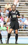 14 October 2007: Wake Forest's Maggie Horne. The University of North Carolina Tar Heels defeated the Wake Forest University Demon Deacons 1-0 at Fetzer Field in Chapel Hill, North Carolina in an Atlantic Coast Conference NCAA Division I Womens Soccer game.