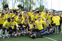 VOETBAL: SNEEK: Sportpark SWZ Boso Sneek, 13-05-2012, Zondag Hoofdklasse C, SWZ Boso Sneek - Alcides, Eindstand 2-0, Huldiging Kampioensteam Sneek, ©foto Martin de Jong